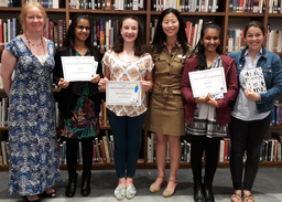 10 Marymount students place in the Young Author's Fiction Festival 2017
