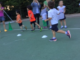 Marymount Elementary Students Raise Money for UNICEF in the very first Marymount Lap-A-Thon